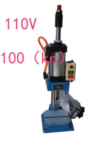 Newest Top-grade Pneumatic Punch Press machine 110V TTQD-50 150X135(mm) Best