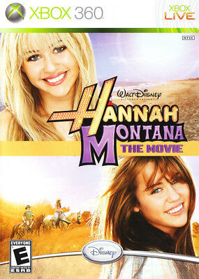 Disney Hannah Montana The Movie Xbox 360 Xbox 360