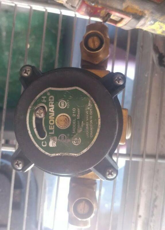Leonard 210/TA Thermostatic Water Mixing Valve