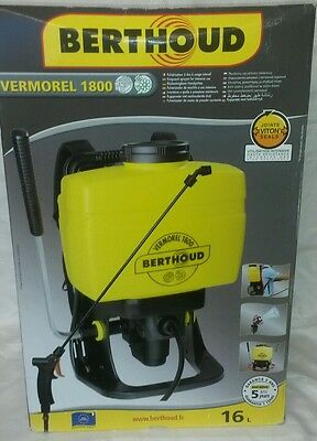 Berthoud Vermorel 1800 Garden Knapsack sprayer 16L weed killer landsape fertiliz