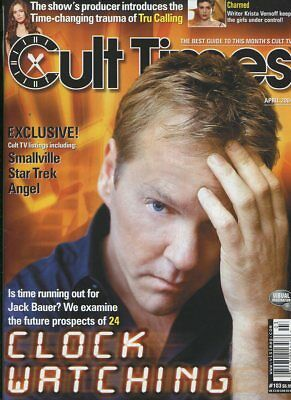 Cult Times #103 Apr.2004 Jack Bauer (Clock Watching) Smallville unread MBX110