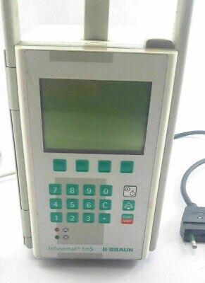 B Braun Infusomat Fms Compact Volumetric Peristaltic Infusion Iv Pump German