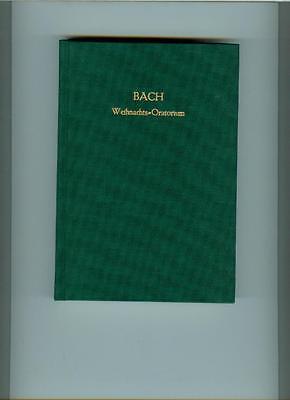 Bach : Weihnachtsoratorium Partitur  - gebunden