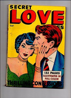 SECRET LOVE STORIES INCLUDES JUNIOR #15 (Al Feldstein ART) JOJO CONGO KING #18