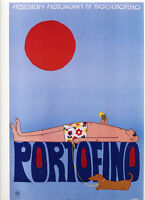 Huber , Poster Portofino 25x35 -  - ebay.it