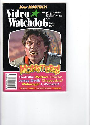 WoW! Video Watchdog #59 The Matrix! Godzilla/Mothra DVDs! Fright Night! Coma!