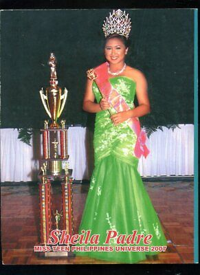 2007 MISS TEEN PHILIPPINES UNIVERSE Beauty Pageant Coronation ORCA PROGRAM BOOK