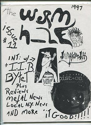 The Worm Hole  Issue 11 1997 Reviews Metal News Local N Y  News  Mbx17