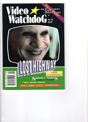WoW Video Watchdog #43 Return Of The Blind Dead! Scream! Christopher Lee! T2-DVD