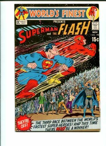 Worlds Finest #198 (Superman - Flash Race) VF+