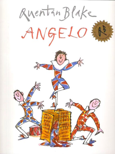 ANGELO Quentin Blake Brand New! 2010 pb Red Fox Children's Classic Collectable