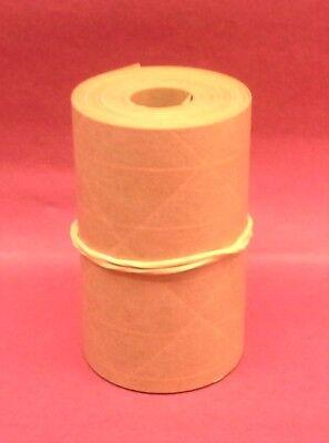 1-roll 3.00 X 25 Gummed Reinforced Paper Tape. Kraft Shipping Packaging