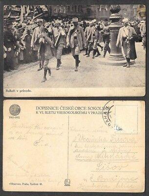 Old Czechoslovakia Postcard - Bulhari v Provodu