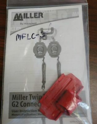 Twin Turbo D-pad Connector Clip Red Honeywell Miller Mflc-3 New In Pack