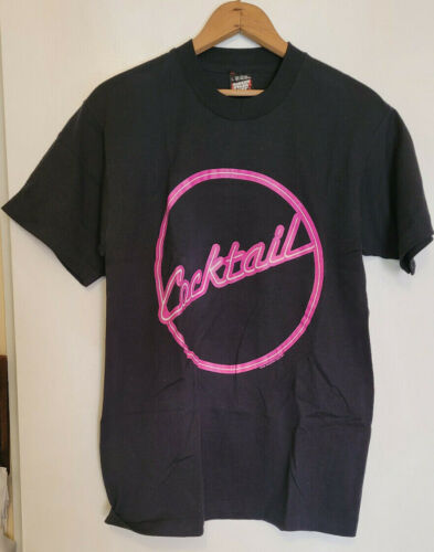 Cocktail The Movie Vintage Promo T-Shirt, NEW Never Worn, Circa 1988, RARE