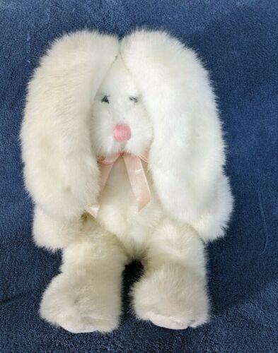 Russ Berrie Plush Huggums Stuffed Animal Bunny Rabbit Easter Toy Floppy Vtg