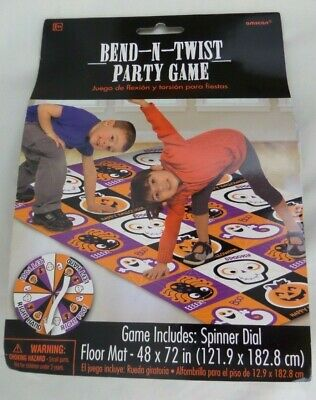 Bend and Twist Halloween Trick or Treat Party Game Activity, Plastic, 72