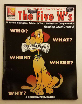 High Interest Low Level Reading (The Five W's, High-Interest/Low Readability; Reading Level Grade 2 - Remedia)