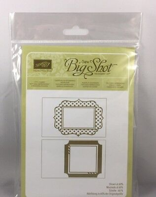 FUN FRAMES Embossing Folder Stampin Up New Background Big Shot Outline](Fun Frames)