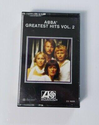 ABBA Greatest Hits Vol 2 Audio Cassette (1979 Atlantic Records)