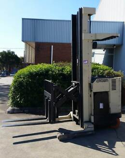 FORKLIFT CHEAP CROWN REACH TRUCK 6.85 meter with side shift Tingalpa Brisbane South East Preview