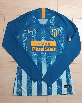Atletico de Madrid Player Issue Shirt Camiseta Match Worn Issued Griezmann Joao