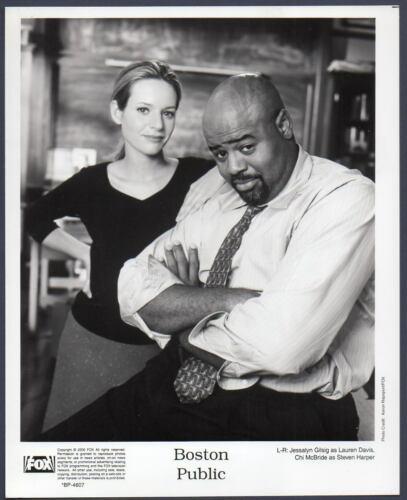 Jessalyn Gilsig & Chi McBride BOSTON PUBLIC Vintage Orig TV Photo black actor