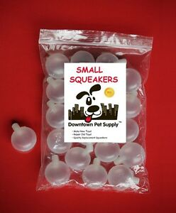 REPLACEMENT SQUEAKERS for dog toys, squeekers, repair fix baby toys - ALL SIZES