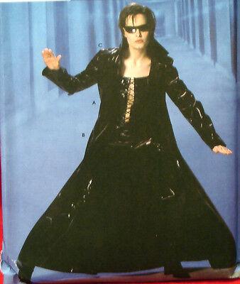 The Matrix Trinity Costume (SEWING PATTERN Simplicity 5380 THE MATRIX TRINITY Sz 14-22  Bust 36-44)