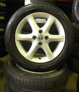 "Toyota Corolla 15"" Alloys With Tyres Toowoomba Toowoomba City Preview"