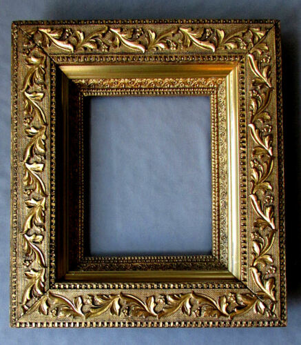 ANTIQUE 19th Century AESTHETIC Wood & Gesso PICTURE FRAME circa 1870