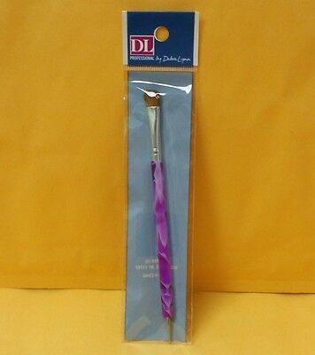 DL French Clean Up Brush - Nail Art Brush With Dotting Tool NEW FREE SHIPPING