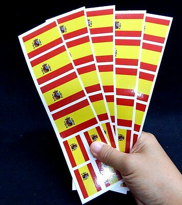 40 Tattoos: Spanish Flag, Spain Party Favors