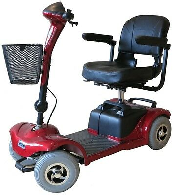 NEW SALE!! NEW Lightweight Mobility Scooter 4 Wheel 4MPH Portable Car Boot