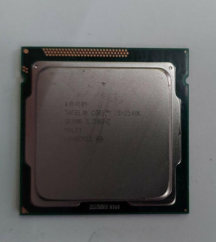 Intel Core i5-2500k Socket LGA 1155 3.3GHz SR008 Quad Core CPU Processor