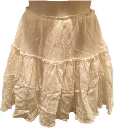 Fleetwood Mac Stevie Nicks Owned White Skirt with COA