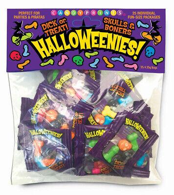 911 Halloween Party (Halloweenies! 25 Bags of Hard Candy - Skulls & Boners - Halloween Party)