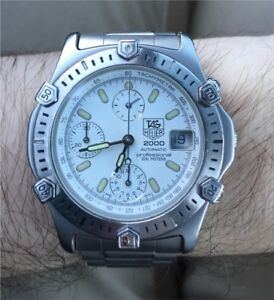 SOLD!!Tag Heuer 2000 Automatic Chronograph Mens