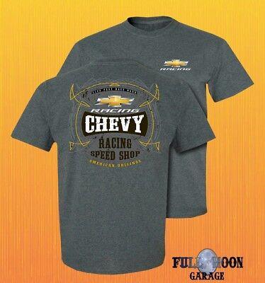 Chevrolet Racing - New Chevy American Original Racing Speed Shop Chevrolet Men's Classic T-Shirt