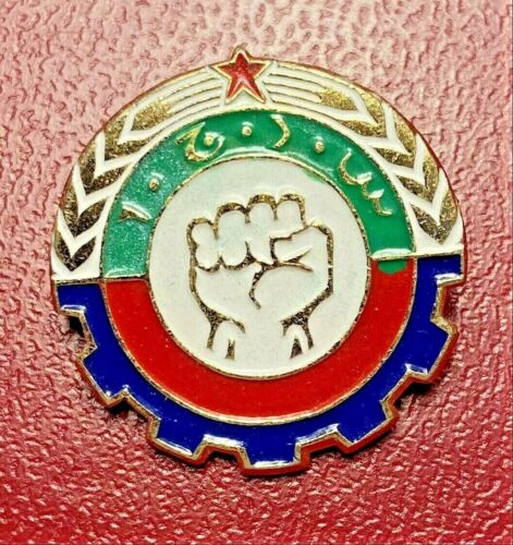 Afghanistan Democratic Youth Union Young Communist member lapel pin badge