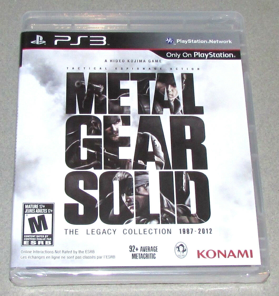 Metal gear solid: the legacy collection (ps3) review & rating.