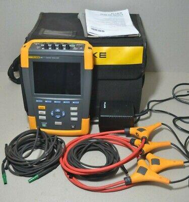 Fluke 434 Series Ii 2 Three Phase Power Quality Analyzer W Flex Cables 434-ii