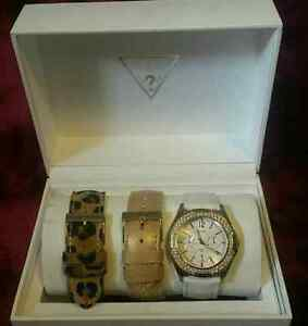 Ladies Guess watch with interchangeable bands London Ontario image 3