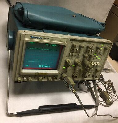Tektronix 2445 Four Channel 150 Mhz Oscilloscope Serial B030963