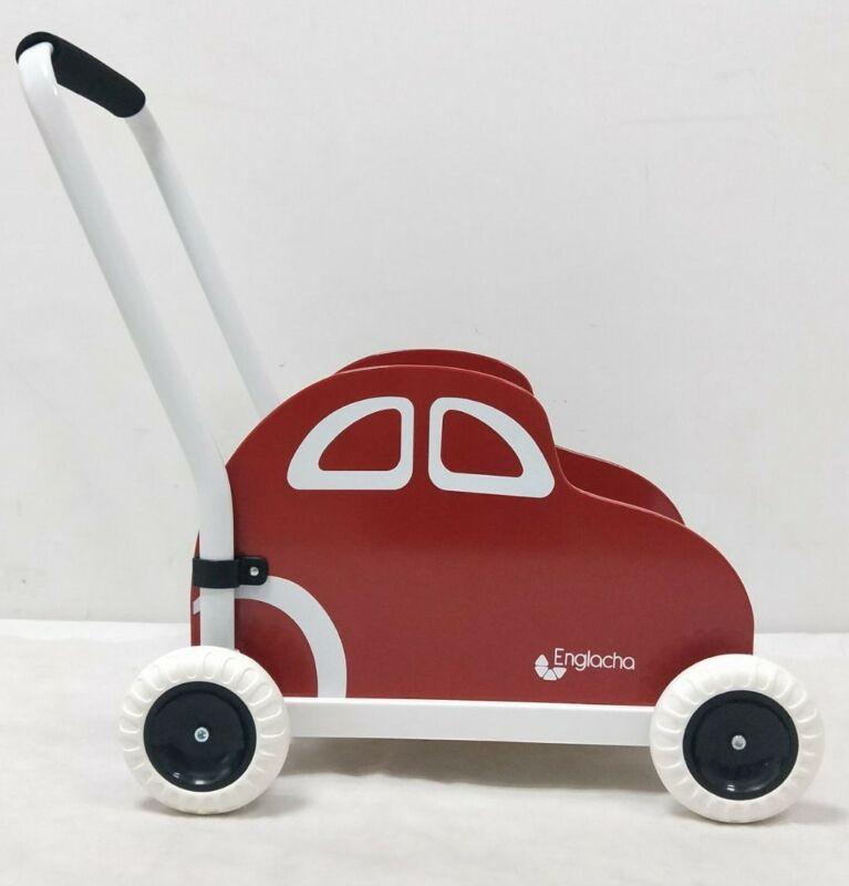 Englacha car Musical Toddler walker - Red