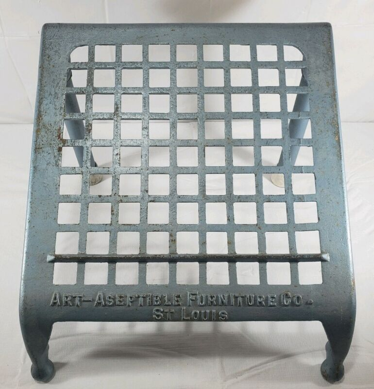 Vintage Iron Foot Rest/ Lectern (Art-Aseptible Furniture Co.)