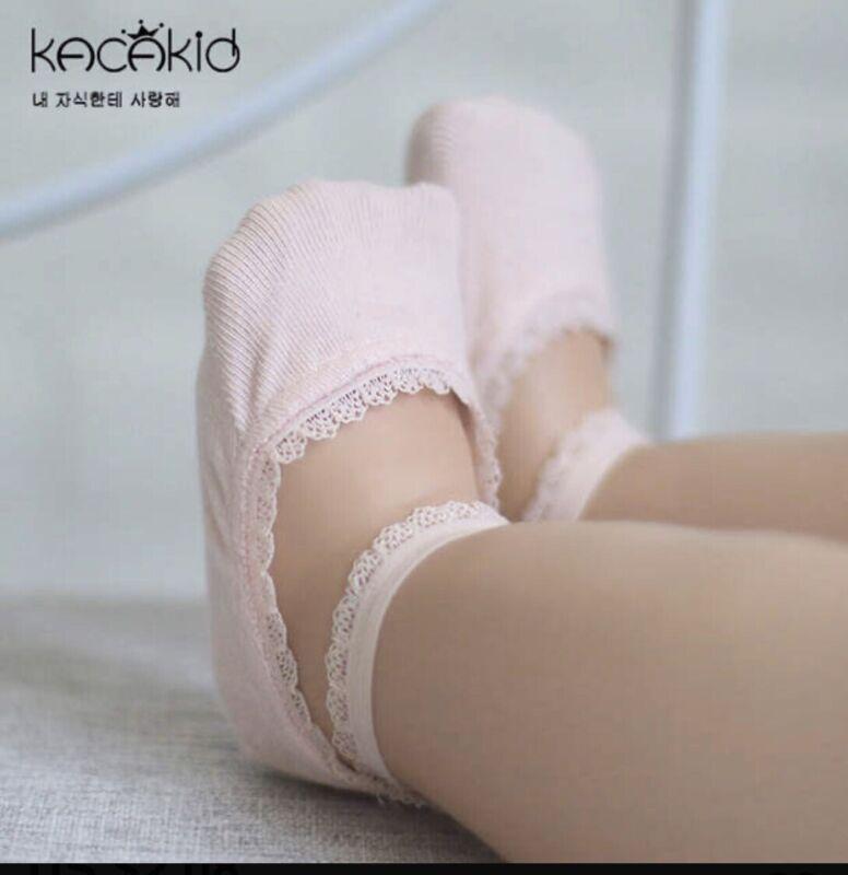 KACAKID Stealth Socks For Kids - Pink - One Pair