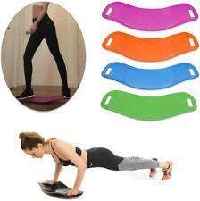 simple core twisting balance board yoga turning fitness