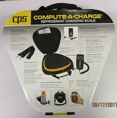 Cps Compute-a-charge 110 Lb Refrigerant Charging Scale Ccd110