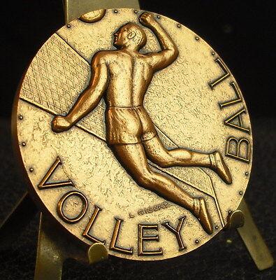 Medaille Volleyball Sport von gibert 50 mm 91 G Medaille 铜牌